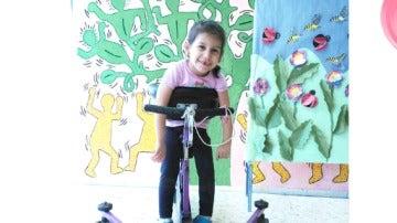 Nahir, la niña de cinco años cuyos padres no pueden permitirse costear el tratamiento que necesita