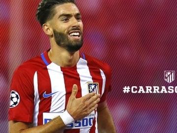 Yannick Carrasco renueva con el Atlético de Madrid hasta 2022