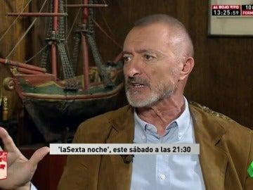 """Arturo Pérez-Reverte: """"El gobierno de Rajoy ha triturado la cultura en todos sus órdenes"""""""