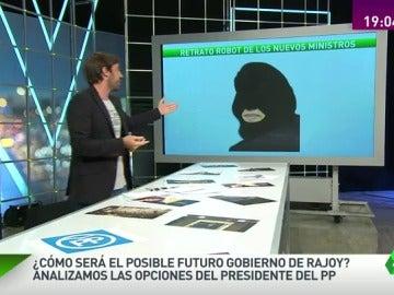 Así podría ser el futuro gobierno de Rajoy