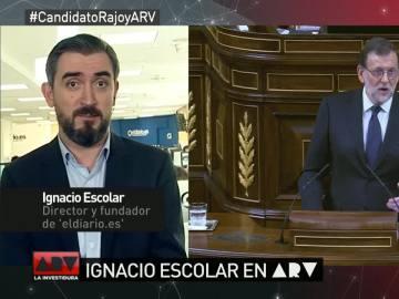 """Ignacio Escolar: """"La oposición está centrada en zurrarse en lugar de buscar una alternativa a Rajoy"""""""