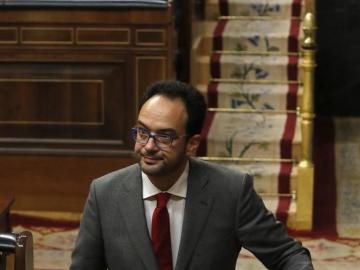 """Antonio Hernando justifica su viraje a la abstención: """"No podemos hacer otra cosa, es abstención o elecciones"""""""
