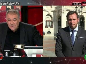 """Óscar Puente: """"Pedro Sánchez tiene dudas sobre romper la disciplina de voto y mantener su escaño"""""""