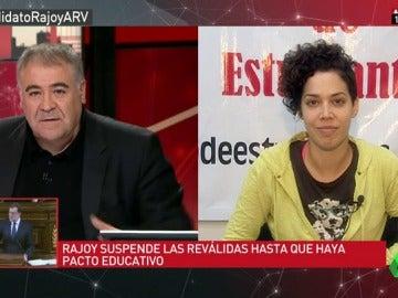 """Ana García: """"La primera batalla en las calles la hemos ganado, pero queremos la derogación total"""""""