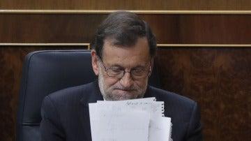 El Congreso cumple el guión previsto y aplaza hasta el sábado la investidura de Mariano Rajoy