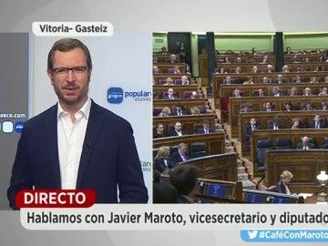 """Javier Maroto, sobre Podemos: """"Si no los pones en su sitio, cada día se suben más a las barbas"""""""