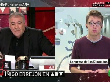 "Errejón: ""Ana Pastor se salta el reglamento para favorecer al PP"""