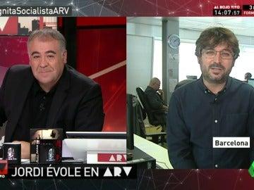 """Jordi Évole: """"Yo creo que Pedro Sánchez sí quiere seguir en política"""""""