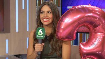 Cristina Pedroche, en el tercer cumpleaños de Zapeando