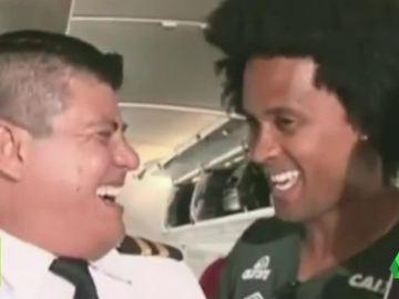 El último vídeo de los jugadores del Chapecoense