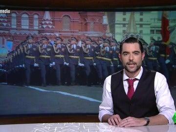 """Dani Mateo, del PP: """"Es la máquina política más poderosa jamás vista en España, sólo se compara con el temido Ejército Rojo de la URSS"""""""