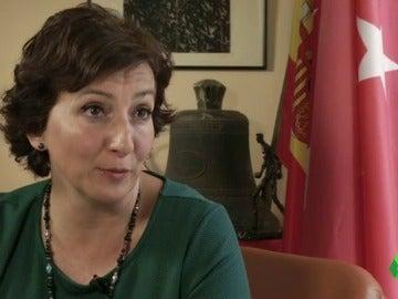 """Cati Rodríguez, alcaldesa de San Fernando de Henares: """"Intentamos recuperar nuestra plaza, es como si vendieran Cibeles"""""""