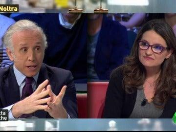 """Mónica Oltra: """"Han utilizado la muerte de Rita Barberá para intentar rebajar las exigencias contra la corrupción"""""""