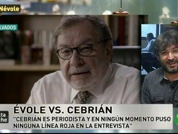 """Jordi Évole: """"Me sorprendió que Cebrián me dijera que el canal que más ve es laSexta"""""""