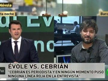 """Jordi Évole: """"Cebrián no fue muy amable al valorar políticamente a Pedro Sánchez"""""""