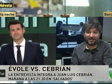 """Jordi Évole: """"El final de la entrevista a Juan Luis Cebrián en Salvados es impagable"""""""