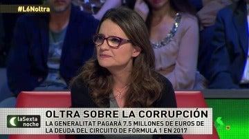 "Mónica Oltra: ""La corrupción es como si entraran en tu casa a robar. Quitan inversión en Educación o dependencia"""