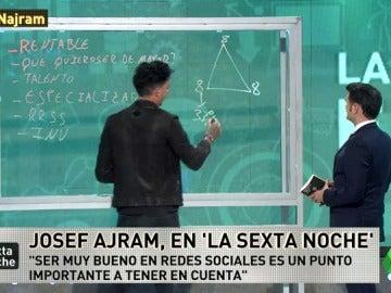 """Josef Ajram: """"A lo máximo que podemos aspirar ahora en la vida es a ser propietarios del 33% de nuestro tiempo"""""""