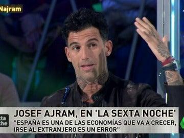 """Josef Ajram: """"Es un error irse fuera de España, el país es seguro y habrá oportunidades"""""""