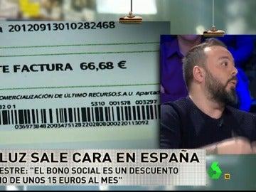 """Antonio Maestre: """"El bono social no sirve para nada, es un descuento mínimo de 15 euros al mes"""""""