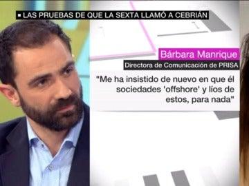 laSexta llamó a Juan Luis Cebrián