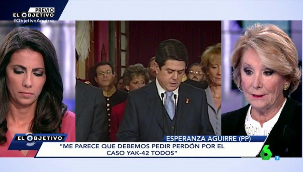 """Frame 98.155344 de: Esperanza Aguirre, sobre posible ingreso de Trillo en el Consejo de Estado: """"No es un cargo público sino de funcionario"""""""