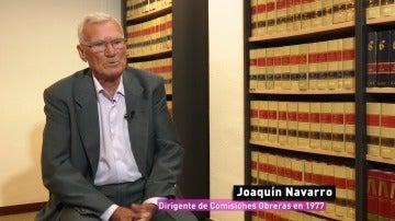 Joaquín Navarro, el hombre al que buscaban los asesinos de Atocha