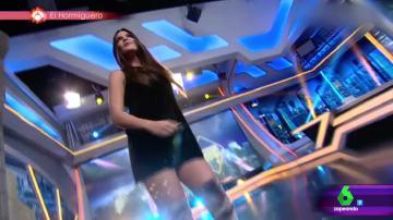 Cristina Pedroche bailando en El Hormiguero