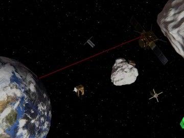 Frame 54.291374 de: asteroide