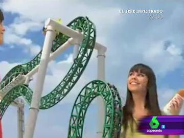 Cristina Pedroche en un anuncio de Terra Mítica