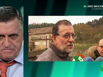 Frame 49.560103 de: El Intermedio descubre que Rajoy recurre siempre a la lluvia para huir de los problemas