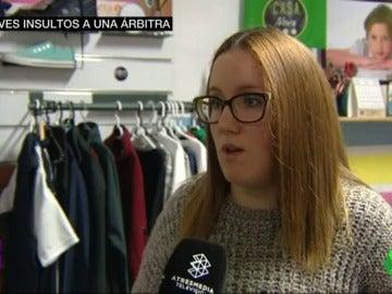 """Frame 7.156666 de: Soraya, la árbitra que sufrió insultos machistas en Jaén: """""""