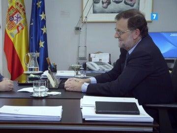 Jordi Évole y Mariano Rajoy