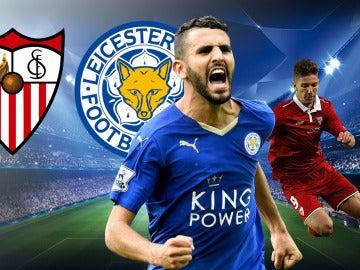 Sevilla FC - Leicester City de Champions League