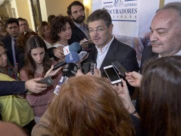 El ministro de Justicia, Rafael Catalá, clausura las X Jornadas de Juntas de Gobierno del Consejo General de Procuradores de España