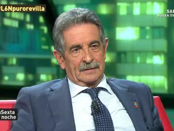 Miguel Ángel Revilla, presidente de Cantabria, en laSexta Noche