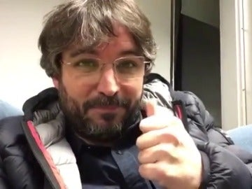 """Frame 3.044472 de: Jordi Évole acepta el reto de estar dos semanas sin Twitter: """"No sé si lo voy a conseguir"""""""