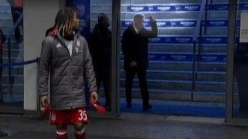 Ancelotti dedica una peineta a un aficionado del Hertha Berlín