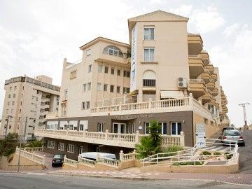 Residencia donde se ha producido el presunto asesinato