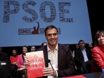 Pedro Sánchez presenta su programa para las primarias del PSOE