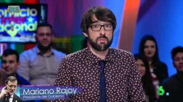 Quique Peinado 'habla' con Mariano Rajoy por teléfono