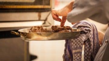 Cocinar con sartenes