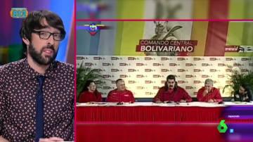 Quique Peinado reacciona ante las palabras de Maduro