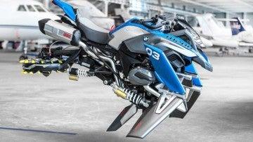 La moto voladora de BMW