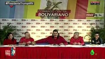 """Frame 22.274291 de: Nicolás Maduro sigue fiel a laSexta: """"Siempre me sacan en Zapeando, lo veo de madrugada"""""""