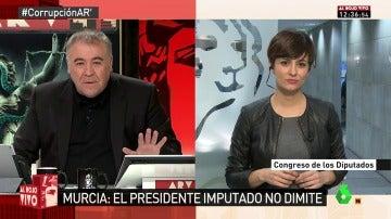 """Frame 15.278374 de: Isabel Rodríguez: """"El ministro Catalá miente sin sonrojarse y sin pudor"""""""