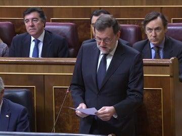 """Frame 5.514208 de: Rajoy: """"La revalorización de las pensiones tiene en cuenta la evolución del IPC"""""""