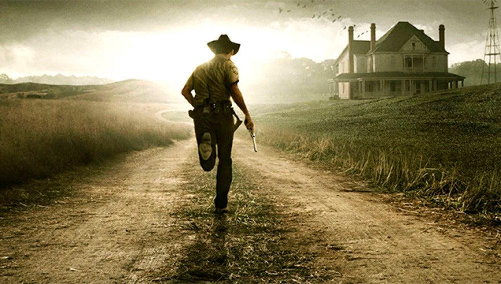 Uno de los carteles de The Walking Dead