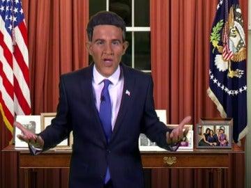 Joaquín Reyes es Barack Obama