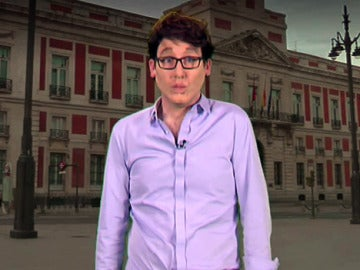 Joaquín Reyes es Íñigo Errejón